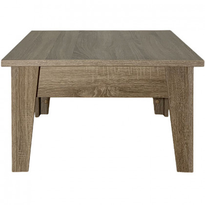 LUNA COFFEE TABLE 70x70x40Ycm ΓΚΡΙ