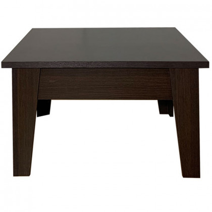 LUNA COFFEE TABLE 70x70x40Ycm WENGE
