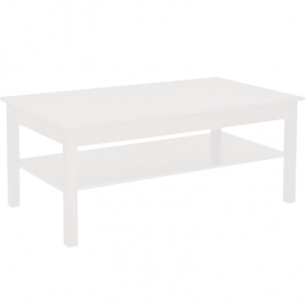 ANEMOS COFFEE TABLE 110x60x47Ycm ΛΕΥΚΟ