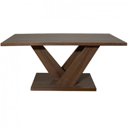 CARLA COFFEE TABLE 110x55x45Ycm ΚΑΡΥΔΙ