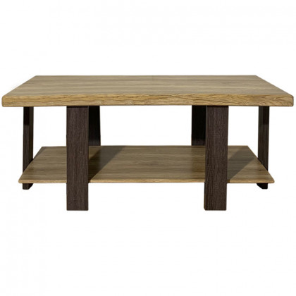 SAMMI COFFEE TABLE 110x55x45Ycm ΚΑΡΥΔΙ