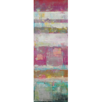 ABSTRACT ΠΙΝΑΚΑΣ 50x3.5x150Ycm OIL PAINTING MULTICOLOR
