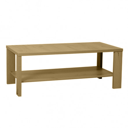 TOBY COFFEE TABLE 100x50x38Ycm DARK OAK NATURAL