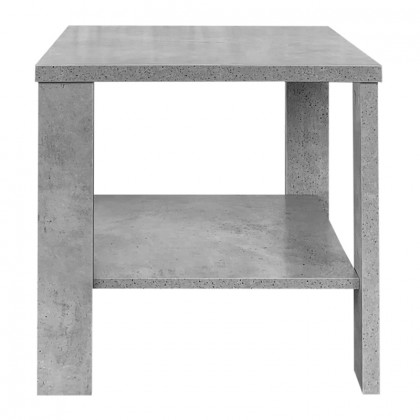 TOBY COFFEE TABLE 50x50x48Ycm CEMENT